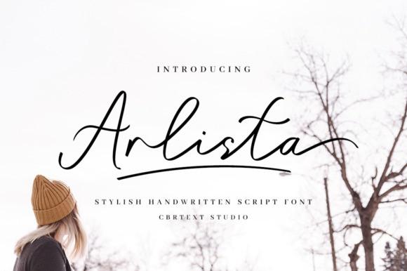 Arlista Handwritten Font