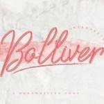Bolliver Handwritten Font