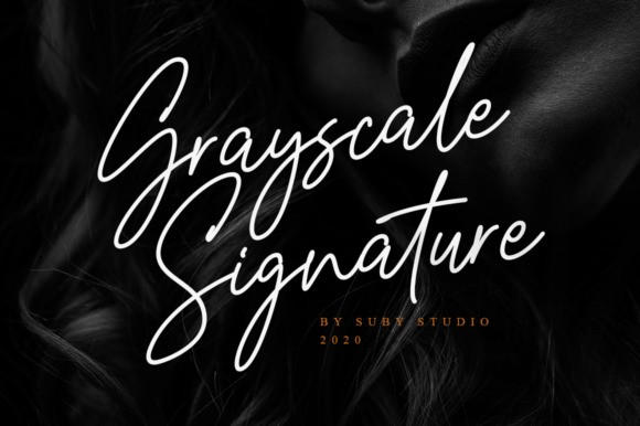 grayscale-font