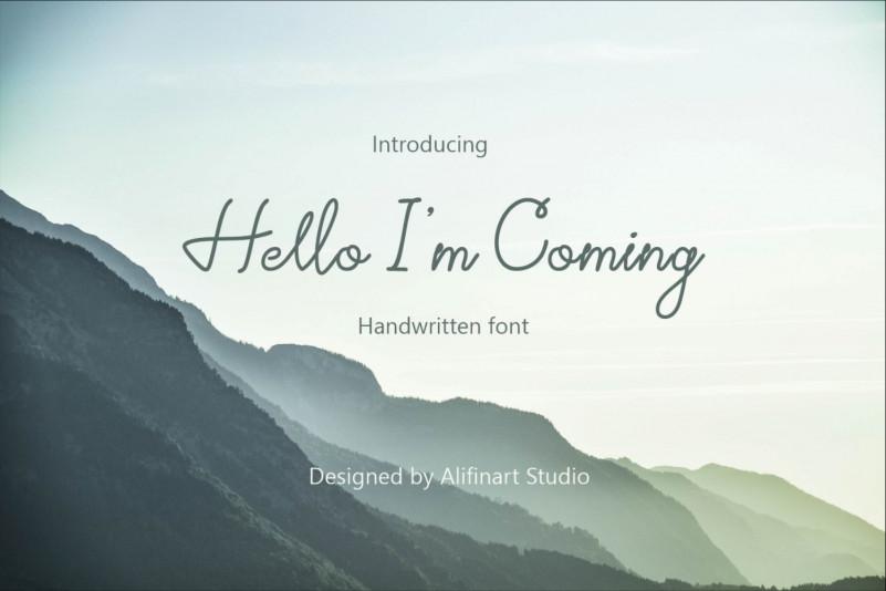 hello-im-coming-font