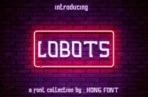 Lobots Collection Font