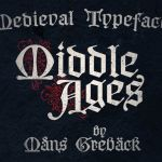 Middle Ages Blackletter Font