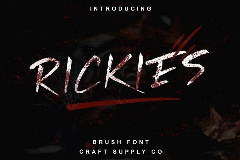 rickies-font