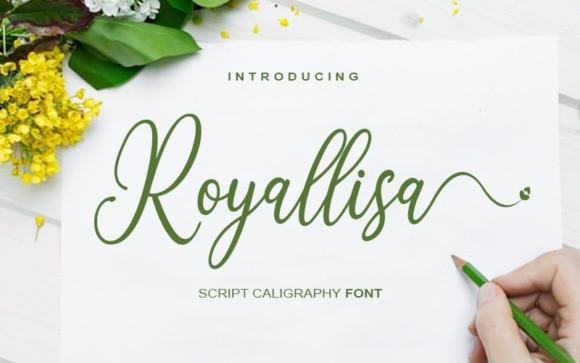 Royallisa Calligraphy Font