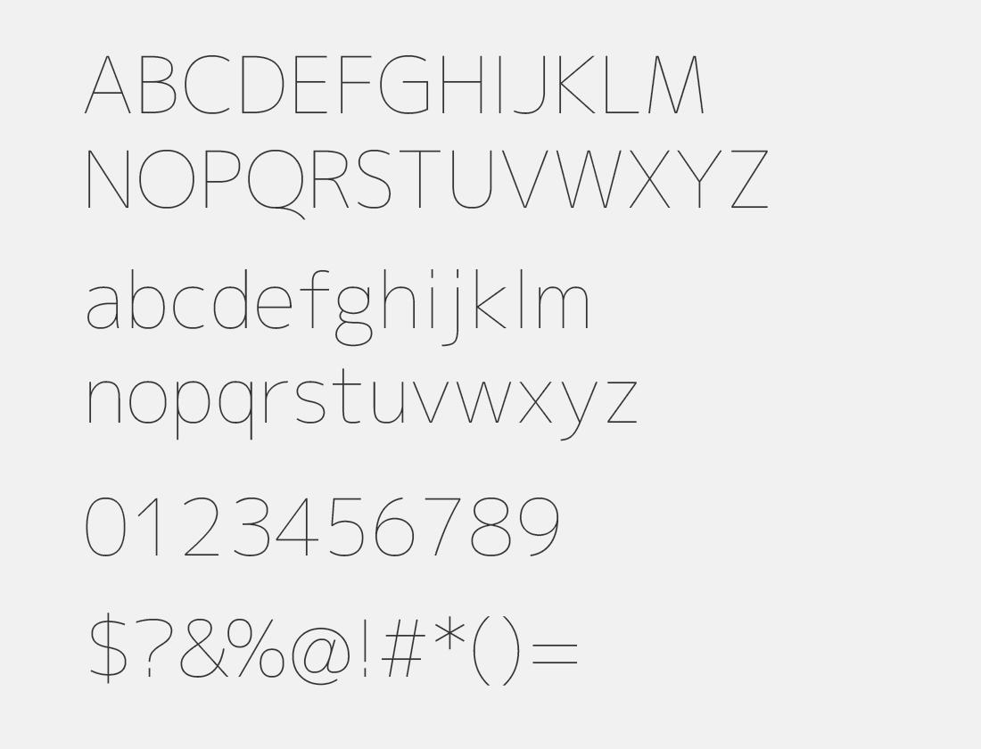 1 M+ 2p thin font