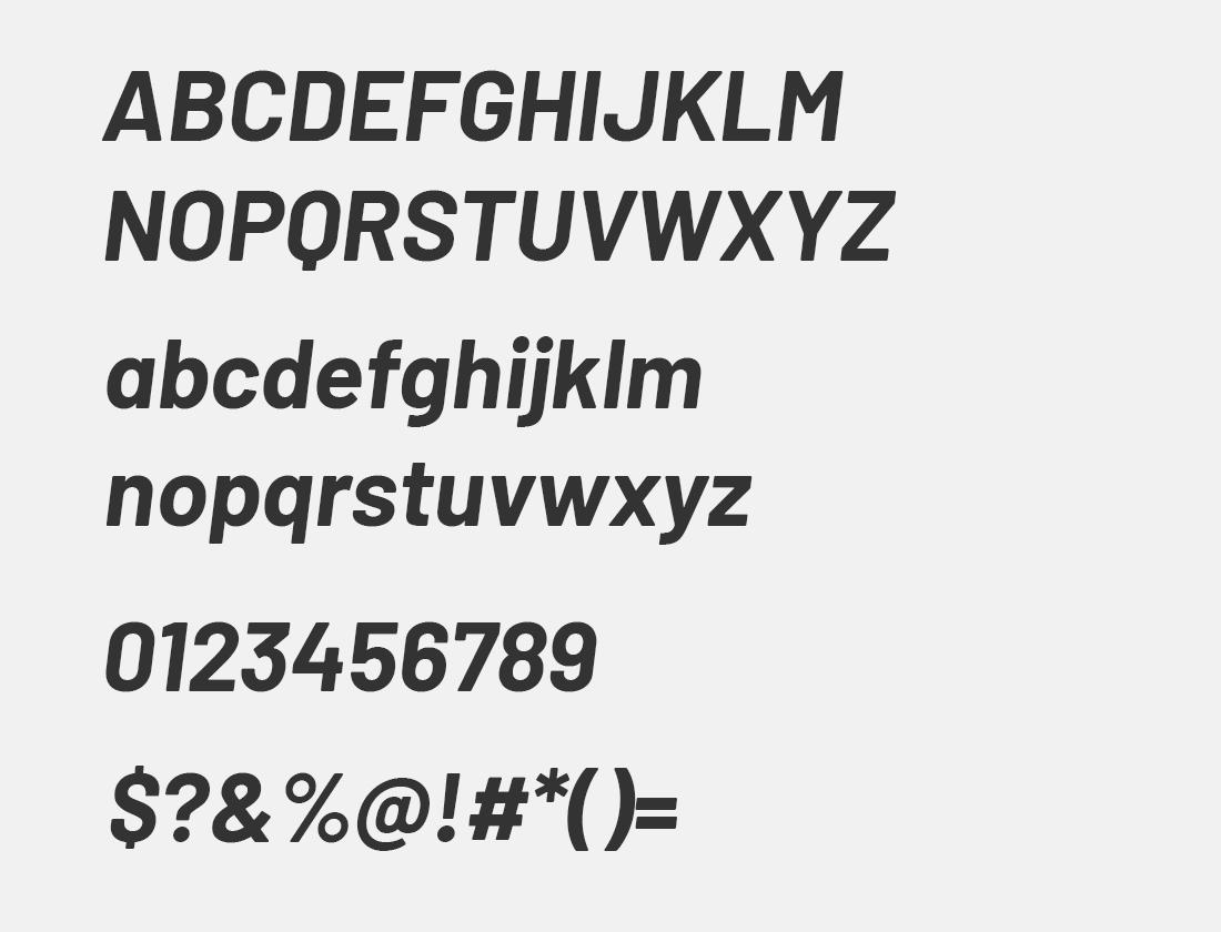 12 barlow bold italic