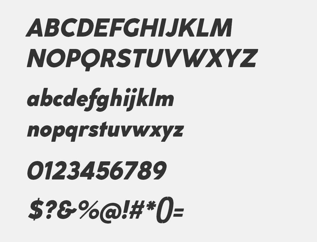 12 cocogoose extra bold italic