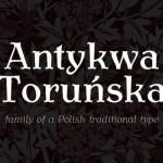 Antykwa Torunska Serif Font Family