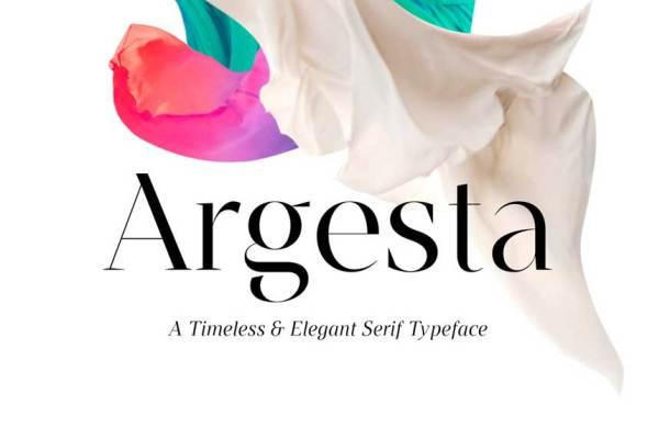 Argesta Sans Font Family