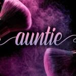 Auntie Script Font