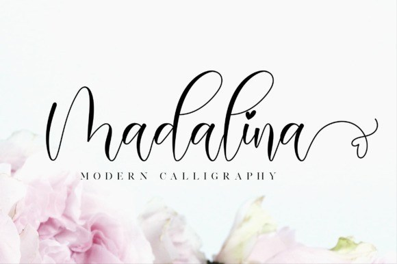 Madalina Calligraphy Font