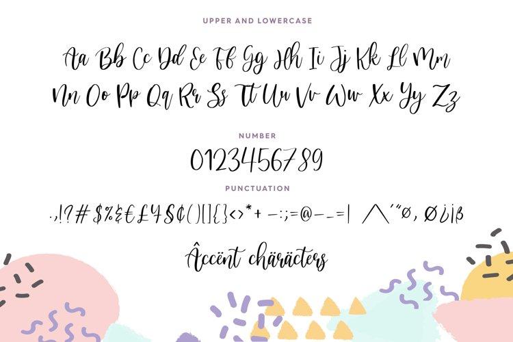 Nicholia Modern Calligraphy Font-3