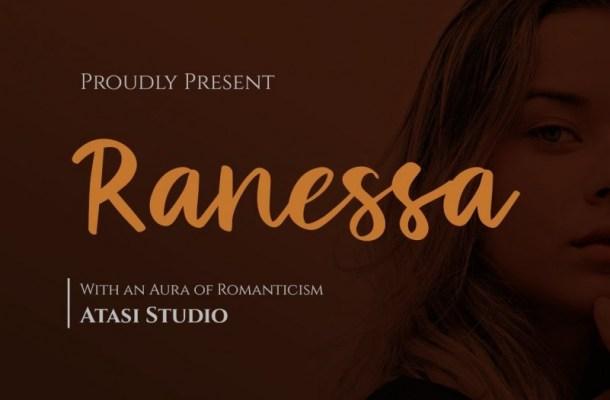 Ranessa Modern Script Font