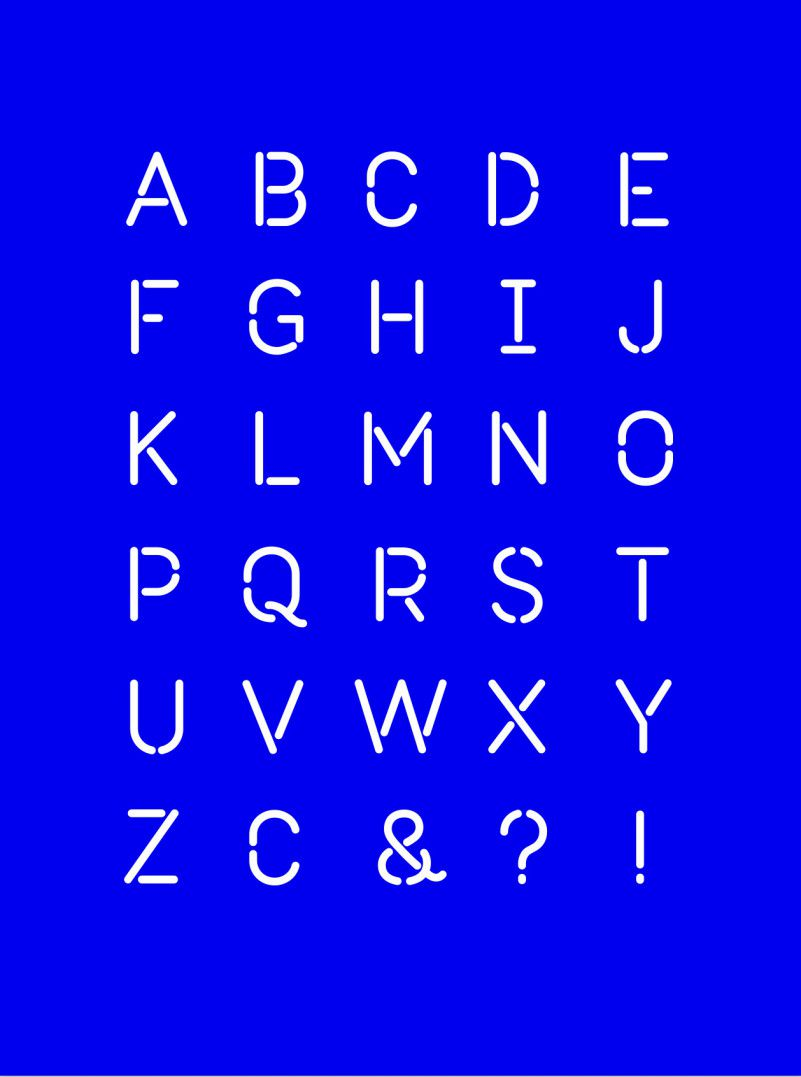 Roska – Stencil Font-2