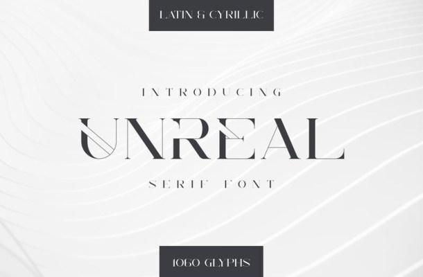 Unreal Serif Font