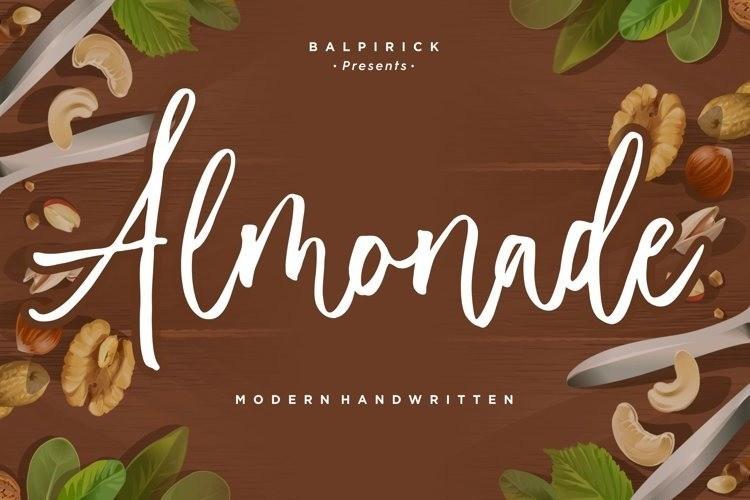 almonade-font-1
