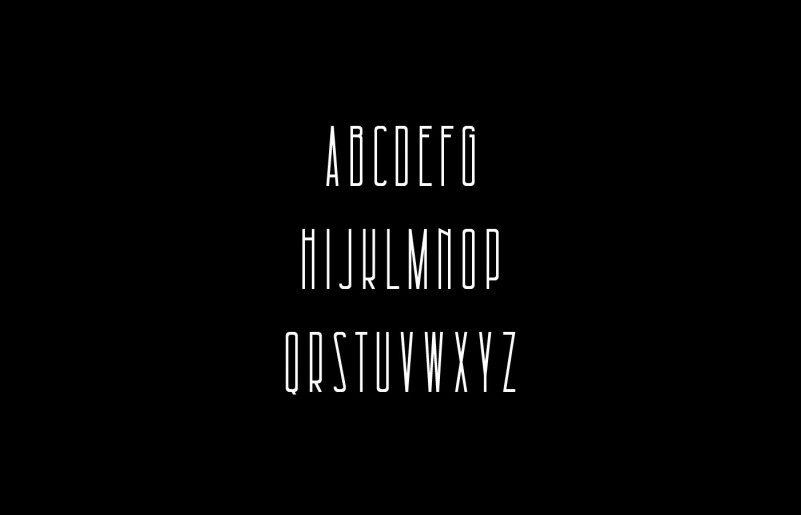 architectural-free-font-3