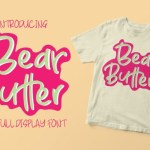 Bear Butter Display Font