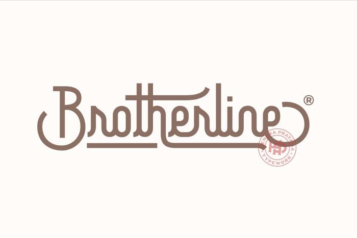 brotherline-font