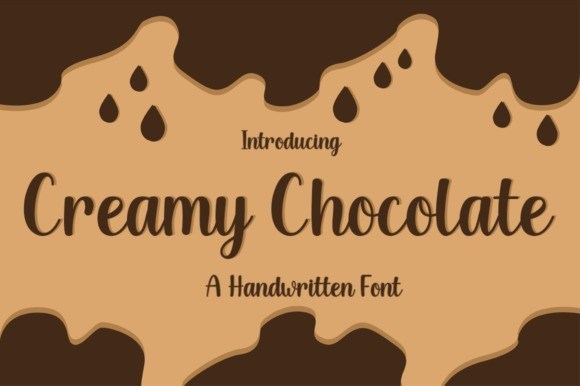 Creamy Chocolate Script Font