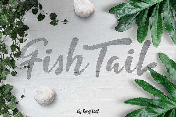 Fishtail Script Font