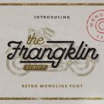 Franklin Monoline Script Font