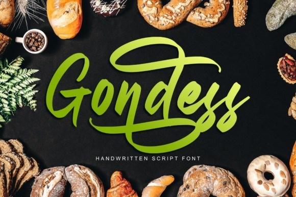 Gondess Script Font