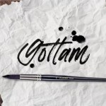 Gottam Hand Drawn Script Font