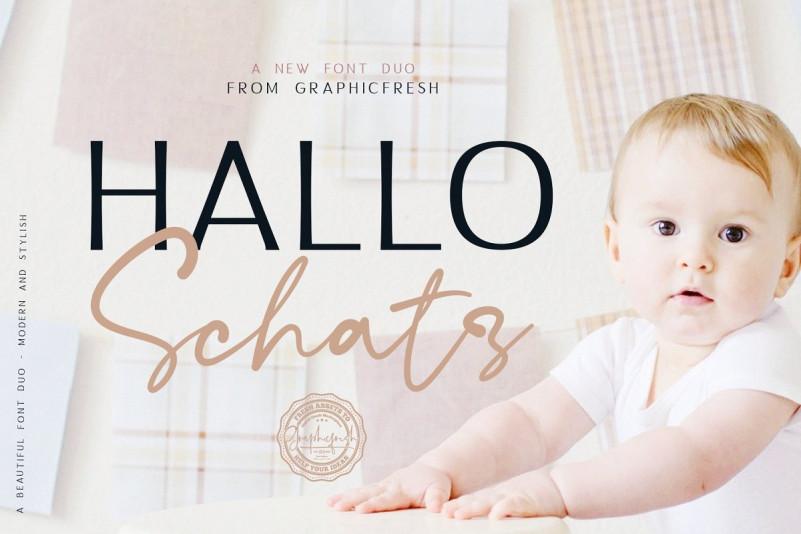 hallo-schatz-font-duo