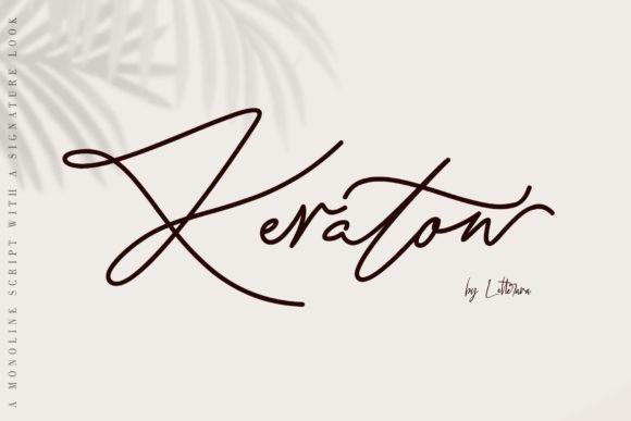 Keraton Handwritten Font