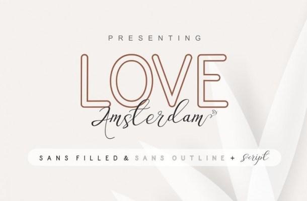 Love Amsterdam Sans Font