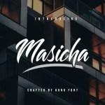 Masicha Hand Brush Script Font