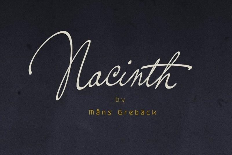 nacinth-font-1