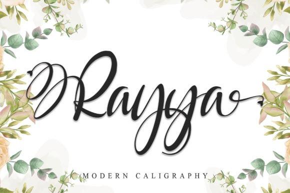 Rayya Modern Calligraphy Font