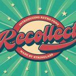 Recollet Retro Bold Script Font