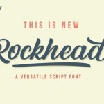 Rockhead Script Font