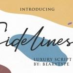 Sidelines Luxury Script Font