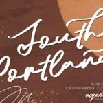 South Portland Script Font