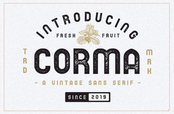 Corma Vintage Sans Font