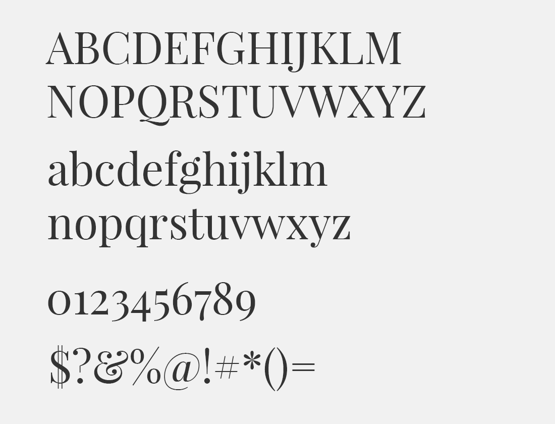 17 Playfair Display font