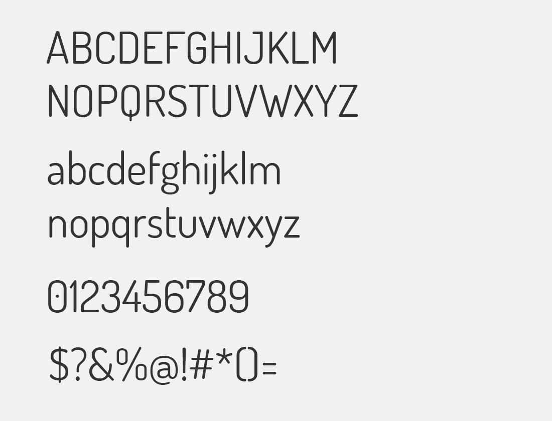 38 Dosis font