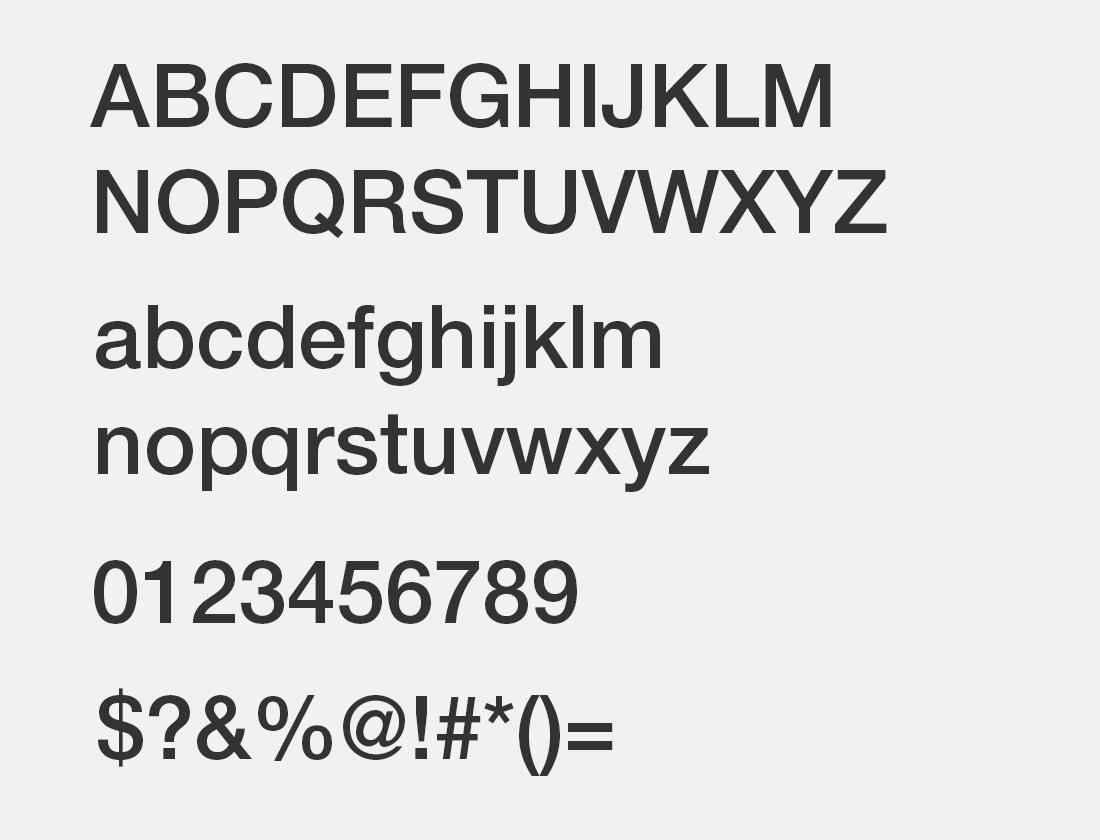 5 Helvetica neue lt md