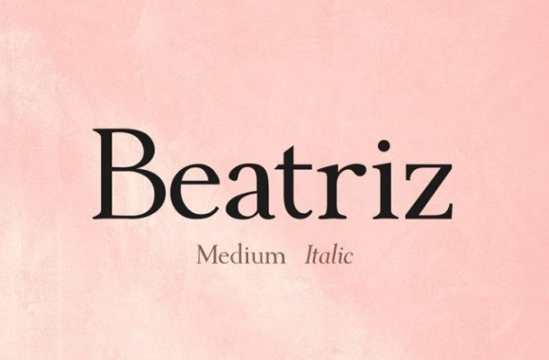 Beatriz Serif Font