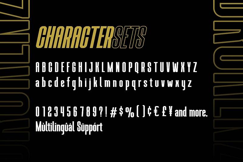 Brokenz Bold Sans Serif Font-3