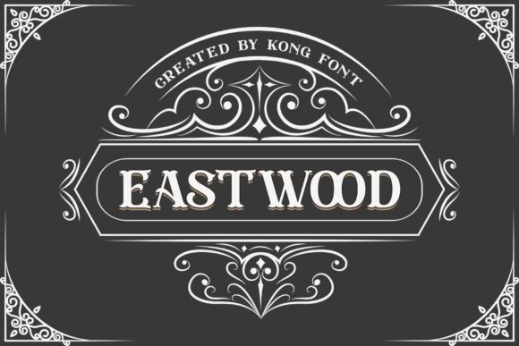Eastwood Display Font-1