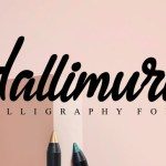Hallimura Calligraphy Script Font