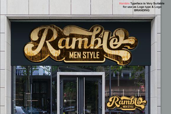 Hamble Font-3
