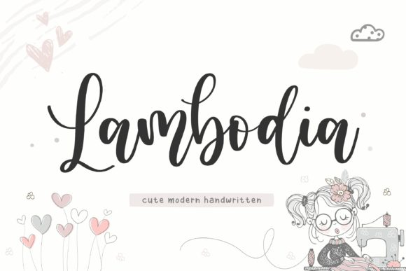 Lambodia Handwritten Font