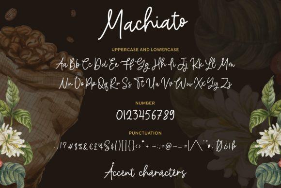 Machiato Font-3