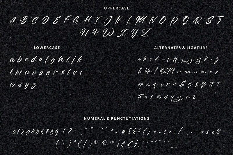 Manhattan Font-3
